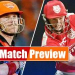 Kings XI Punjab vs Sunrisers Hyderabad IPL Live Scores Ball by Ball Today Match