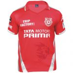 Kings XI Punjab Team Kit/Jersey & Official Logo 2017 IPL